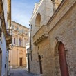 Alleyway. Galatone. Puglia. Italy. - Stock Photo