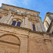 Mother church of the Assumption. Galatone. Puglia. Italy. - Stock Photo