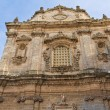Church of St. Sebastiano. Galatone. Puglia. Italy. — Foto de Stock