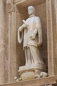 Basilica Cathedral of St. Agata. Gallipoli. Puglia. Italy. — Stock Photo