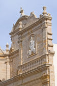 Church of St. Francesco d'Assisi. Gallipoli. Puglia. Italy. — Stock Photo