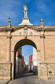 Porta St. Sebastiano. Galatone. Puglia. Italy. — Stock Photo