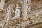 大教堂大教堂的圣 agata。加里波利。普利亚大区。意大利. — 图库照片