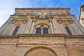 Mother church of the Assumption. Galatone. Puglia. Italy. — Stock Photo