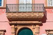 Venneri дворец. галлиполи. апулия. италия. — Стоковое фото
