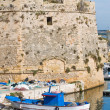Panoramic view of Gallipoli. Puglia. Italy. — Stock Photo #16512881