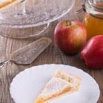 Apple jam tart. — Stock Photo #16515435