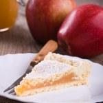 Apple jam tart. — Stock Photo #16516303