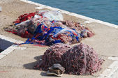Fishing nets. — Zdjęcie stockowe
