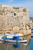 Vista panoramica di gallipoli. puglia. italia. — Foto Stock