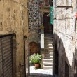 Stock Photo: Alleyway. Bolsena. Lazio. Italy.