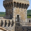 Castle of Bolsena. Lazio. Italy. - Stock Photo