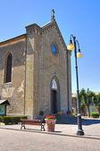 Igreja de santa maria assunta. torre alfina. lazio. itália. — Foto Stock
