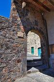 Porta Vecchia. Torre Alfina. Lazio. Italy. — Stock Photo