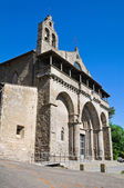 базилика st. флавьяну. монтефьясконе. лацио. италия. — Стоковое фото