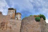 Castelo de borgia. nepi. lazio. itália. — Foto Stock