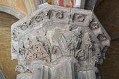 Basilica of St. Flaviano. Montefiascone. Lazio. Italy. — Stock Photo