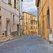 Stock Photo: Alleyway. CivitCastellana. Lazio. Italy.