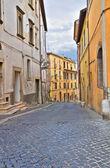 Alleyway. Civita Castellana. Lazio. Italy. — Stock Photo