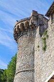 要塞的城墙。纳尔尼。翁布里亚。意大利. — 图库照片