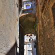 Alleyway. Narni. Umbria. Italy. — Stock Photo