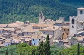 纳尔尼的全景视图。翁布里亚。意大利. — 图库照片