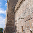 Albornoz fortress. Narni. Umbria. Italy. - Stock Photo