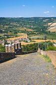 Muralhas fortificadas. orvieto. umbria. itália. — Foto Stock