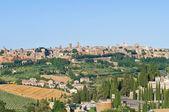 奥维多的全景视图。翁布里亚。意大利. — 图库照片