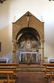 Kerk van st. maria de incertis. san gemini. umbrië. italië. — Stockfoto