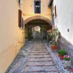 Alleyway. Amelia. Umbria. Italy. — Stock Photo