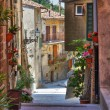 Alleyway. Soriano nel Cimino. Lazio. Italy. — Stock Photo