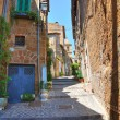 Stock Photo: Alleyway. Capranica. Lazio. Italy.