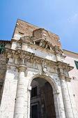 Porta romana. Amelia. Umbria. Italy. — Stock Photo