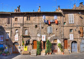 Alleyway. Ronciglione. Lazio. Italy. — Stock Photo