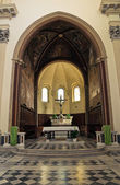 Kathedraal van st. margherita.tarquinia. lazio. italië. — Stockfoto
