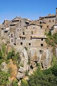 Vista panorâmica de vitorchiano. lazio. itália. — Foto Stock