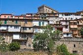 Panoramic view of Soriano nel Cimino. Lazio. Italy. — Stock Photo