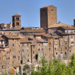 Panoramic view of Vitorchiano. Lazio. Italy. — Foto de Stock