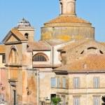 Church of SS. Martiri. Tuscania. Lazio. Italy. — Stock Photo
