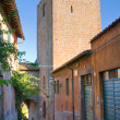 Stock Photo: Alleyway. Tuscania. Lazio. Italy.