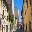 Stock Photo: Alleyway. Tarquinia. Lazio. Italy.