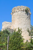 Tower of Matilde of Canossa. Tarquinia. Lazio. Italy. — Foto de Stock
