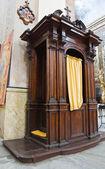 Kathedraal van vetralla. lazio. italië. — Stockfoto