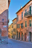 Alleyway. Tuscania. Lazio. Italy. — Stock Photo
