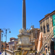 Monumental fountain. Tarquinia. Lazio. Italy. — Stock Photo #17651521