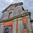 Stock Photo: Church of Carmine. Nepi. Lazio. Italy.