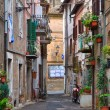 Stock Photo: Alleyway. Nepi. Lazio. Italy.