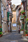Alleyway. Nepi. Lazio. Italy. — Stock Photo