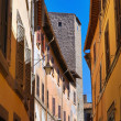 Stock Photo: Alleyway. Viterbo. Lazio. Italy.